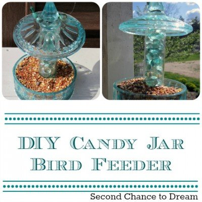 Second Chance to Dream: Candy Jar Birdfeeder