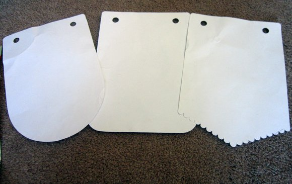 Templates No Sew All Weather Outdoor Bunting