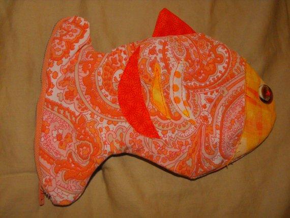 Zipper Pouch Goldfish