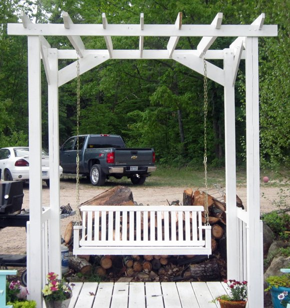 pergola+swing No Sew All Weather Outdoor Bunting
