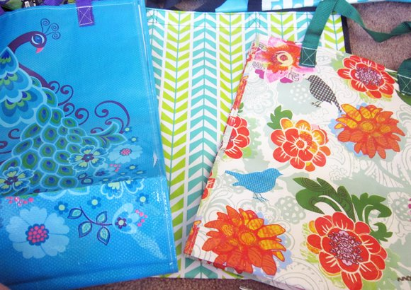 reusable+bags No Sew All Weather Outdoor Bunting