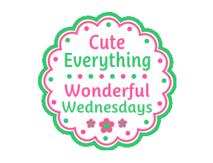 cute everything wed link party button Summer Subway Outdoor Wall Art + Vertical Gardening Update
