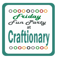friday+fun+party+button No Sew All Weather Outdoor Bunting
