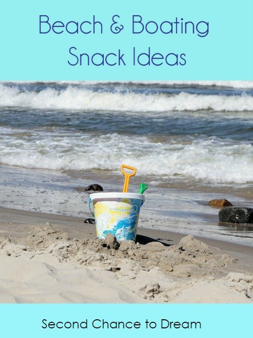 Second Chance to Dream: Beach & Boating Snack Ideas #boating #beach #snacks