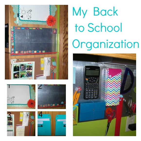 PicMonkey+Collage My Back to School Organization!