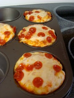 Pizza+Muffins Back to School Sandwich less Lunch Ideas