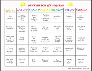 Praying for Our Children Week 4