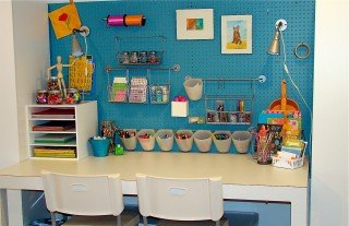 eclectic kids Back to School Organization