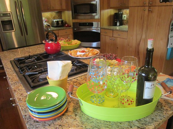 finished+with+food DIY Hand Painted Wine Glasses