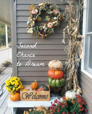Fall+Porch {Featured On}