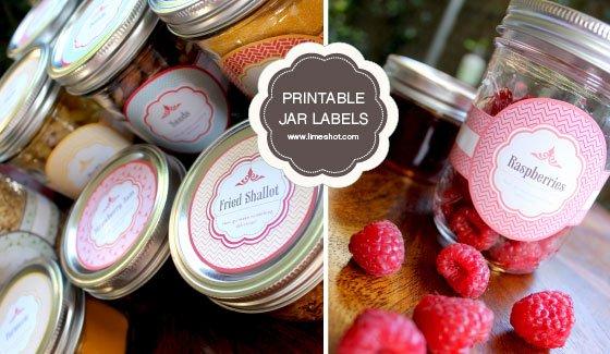 thumb Free Printable Mason Jar Labels