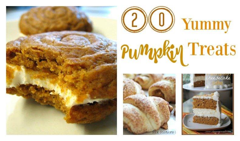 Second Chance to Dream: 20 Yummy Pumpkin Treats #pumpkin #Thanksgiving