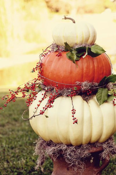 Wedding of the Week: Rustic Fall Nuptials