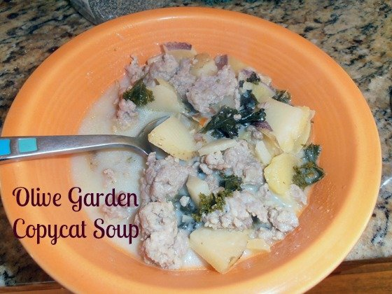 Second Chance to Dream: Olive Garden Zuppa Toscana Soup