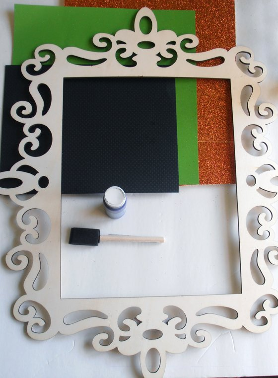 Supplies DIY Halloween Wall Art