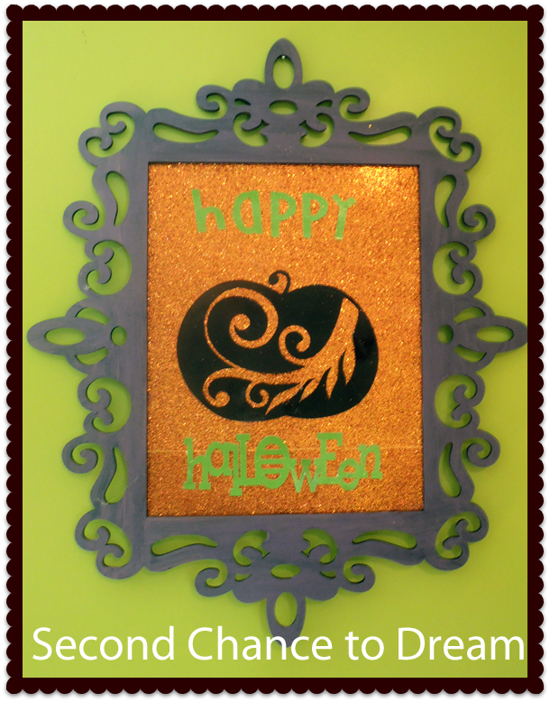 Second Chance to Dream- Halloween Wall Art