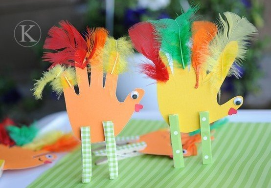 Thanksgiving crafts/activities
