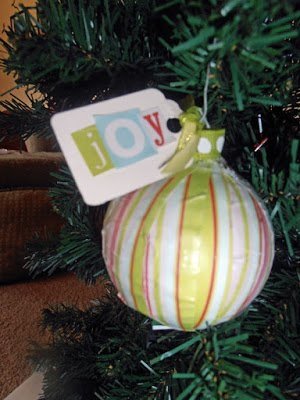 Joy2 5 Ways to Spruce up your Ornaments with Scrapbooking Supplies