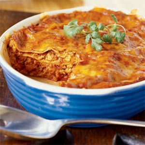 Turkey Enchilada Casserole Recipe