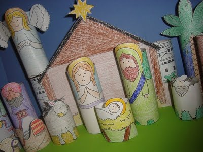 diynativity 15 Kids Christmas Crafts