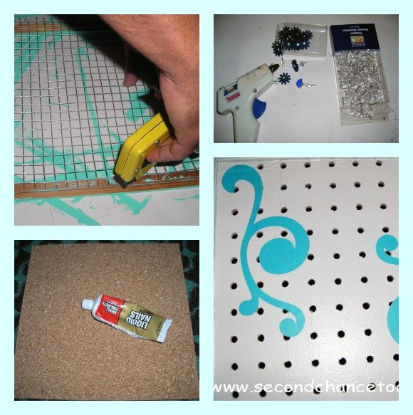 using+supplies DIY Jewelry Organizaton