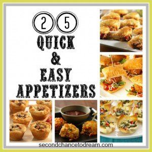 {25 Quick & Easy Appetizers}