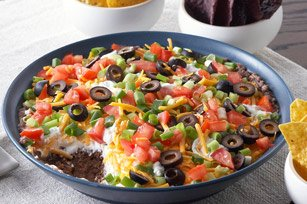 5 Layer Mexican Dip 2139 {25 Quick & Easy Appetizers}
