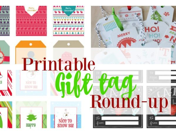 Second Chance to Dream: Printable Gift Tag Round-up