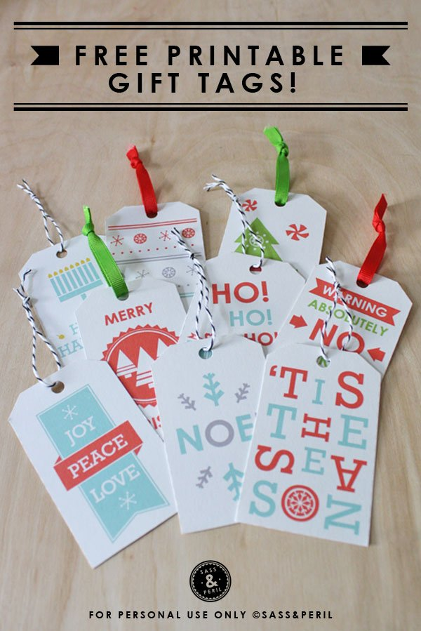 Holiday 11 Gift Tags