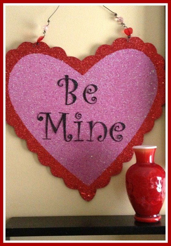 Second Chance to Dream: Quick & Easy Valentine Wall Art