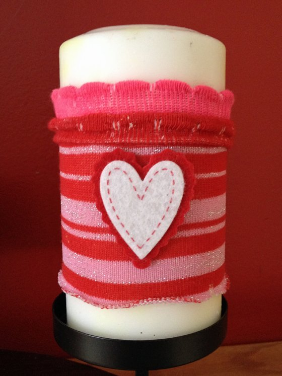 Embellish DIY Candle Cozies