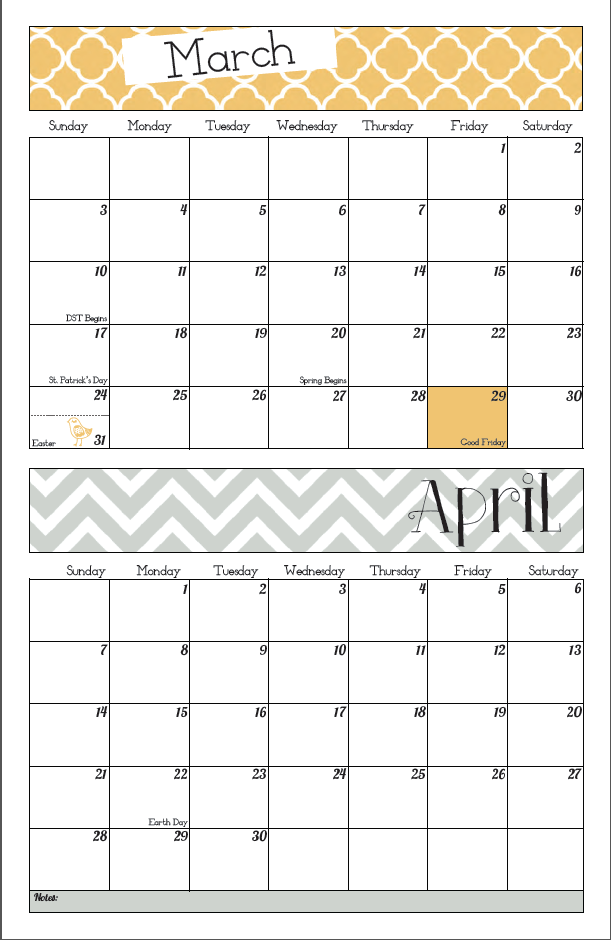 Screen Shot 2012 12 07 at 4.36.59 PM {10} Printable 2013  Calendars
