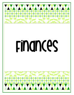 afinancesgr {My Life in One Little Book}  Printable Planner in 2 Colors