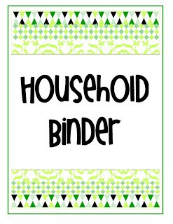 ahouseholdbindergr {My Life in One Little Book}  Printable Planner in 2 Colors