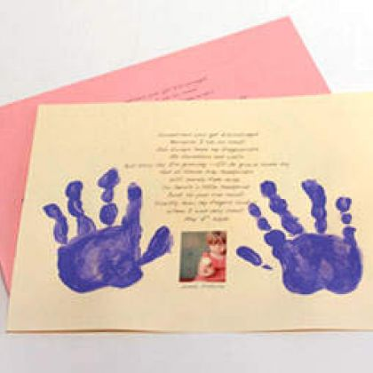Printable Mother's Day Handprint Poem