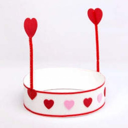 kids valentine hat kaboose craft photo 350 fs IMG 9072 rdax 65 15 Kids Valentines Day Crafts