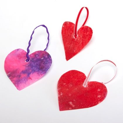 stained glass hearts kaboose craft photo 350 fs IMG 8952 rdax 65 15 Kids Valentines Day Crafts