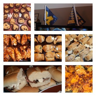 tailgating+food {2013 Super Bowl Fun}