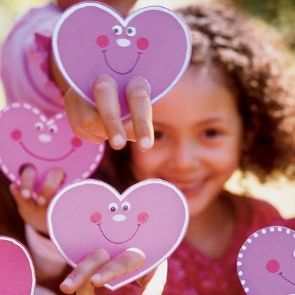 valentine finger puppet valentines day craft photo 420 FF0204VALENA12 15 Kids Valentines Day Crafts