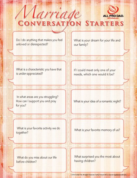 apd marriage conversation starters 600px Week 3:  Marriage Challenge  Date your Husband