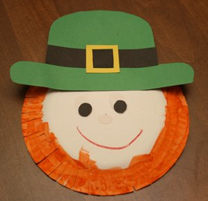 paper plate leprechaun craft 15 Kids St. Patricks Day Crafts