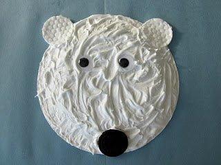 Puffy Paint Polar Bear