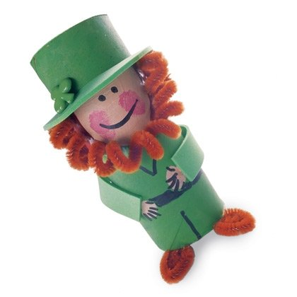 wee leprechaun st patricks day craft photo 420 FF0304ALMCA01 15 Kids St. Patricks Day Crafts