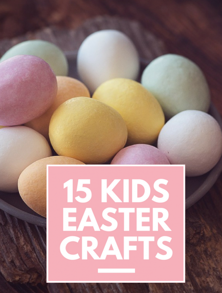 Second Chance to Dream: 15 Kids Easter Crafts #Easter Keep the kids occupied while you're making dinner