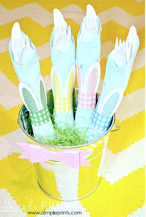 Bunny Ear Napking Rings Ideas for Easter! {Links to Love}