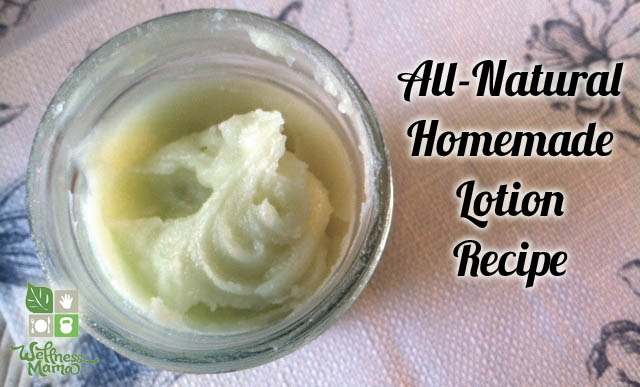 Homemade Lotion Recipe all natural and easy to make {12 Skin Care Recipes Using Coconut Oil}