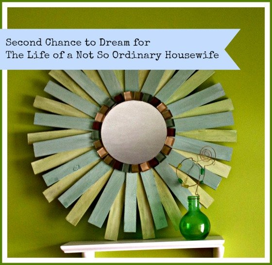 Second Chance to Dream: DIY Sunburst Mirror
