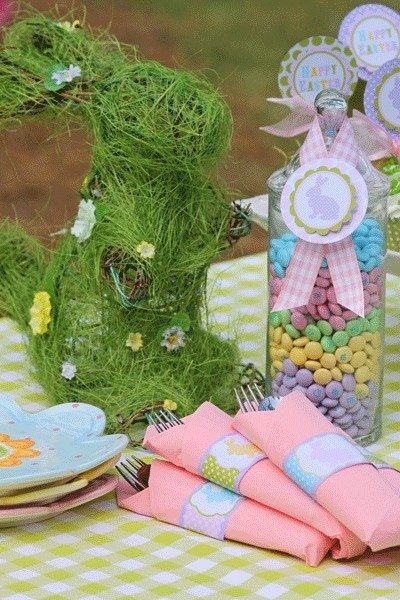 easter tablescapes17 Easter Table Decoration Ideas