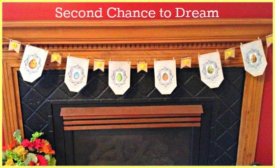 Second Chance to Dream: DIY Spring Banner #spring