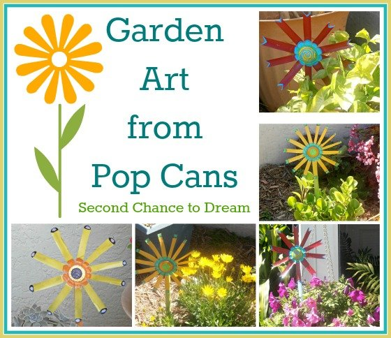 Second Chance to Dream: Garden Art from Pop Cans